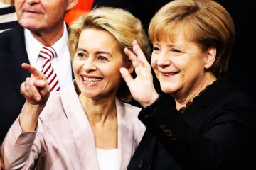 """冯德莱恩将成为欧盟行政部门历史上第一位女性""""首脑"""""""
