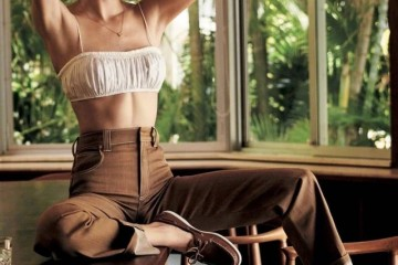 Kendall的身段哪个女生不仰慕最新内页大片每张都是颜值暴击