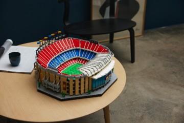 全新乐高®诺坎普球场重磅上市 以乐高®玩乐致敬巴塞罗那足球俱乐部